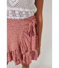 RUFFLED MINI SKIRT