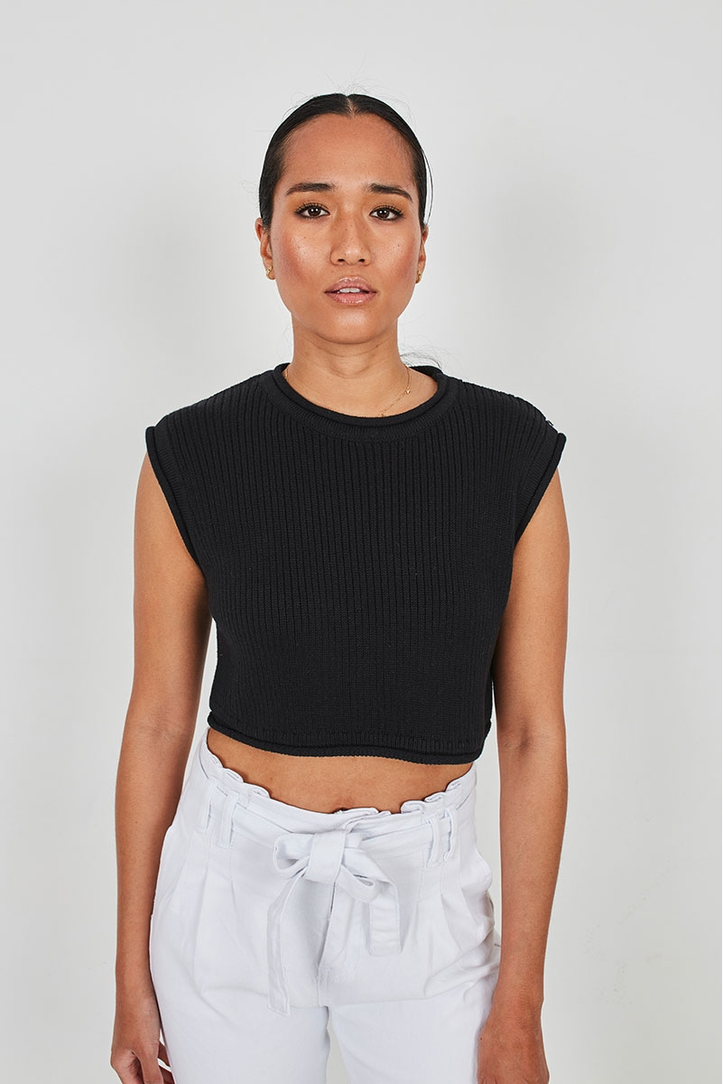 RUSTIC CROPPED TOP