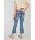 CROPPED FLARED JEAN