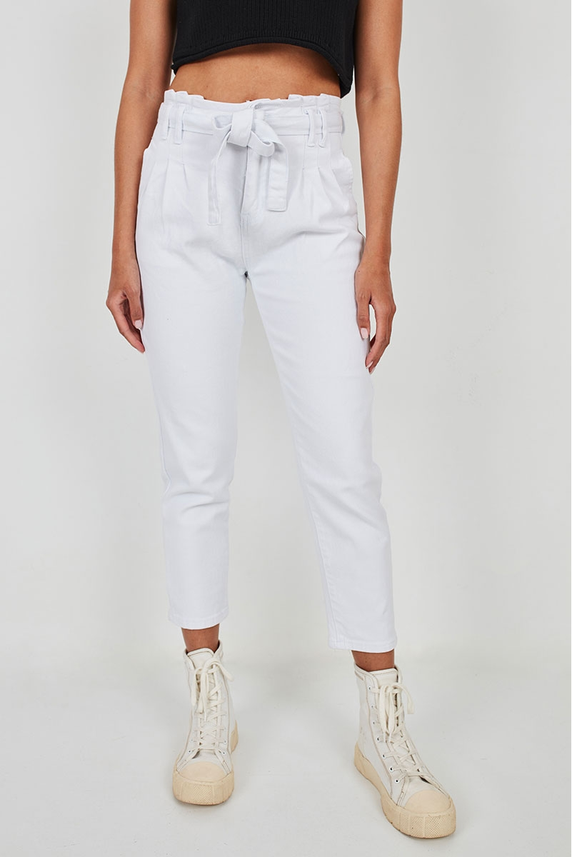 BELT AND DARTS JEANS