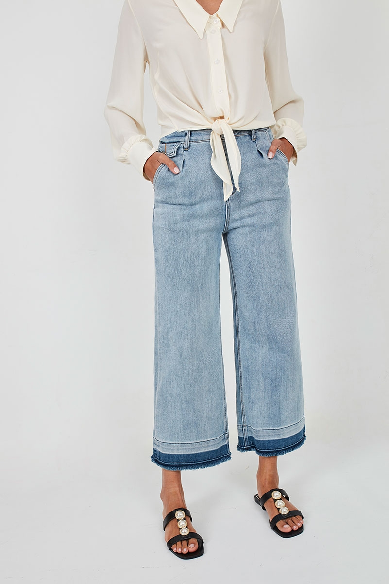 WIDE STRAIGHT JEANS