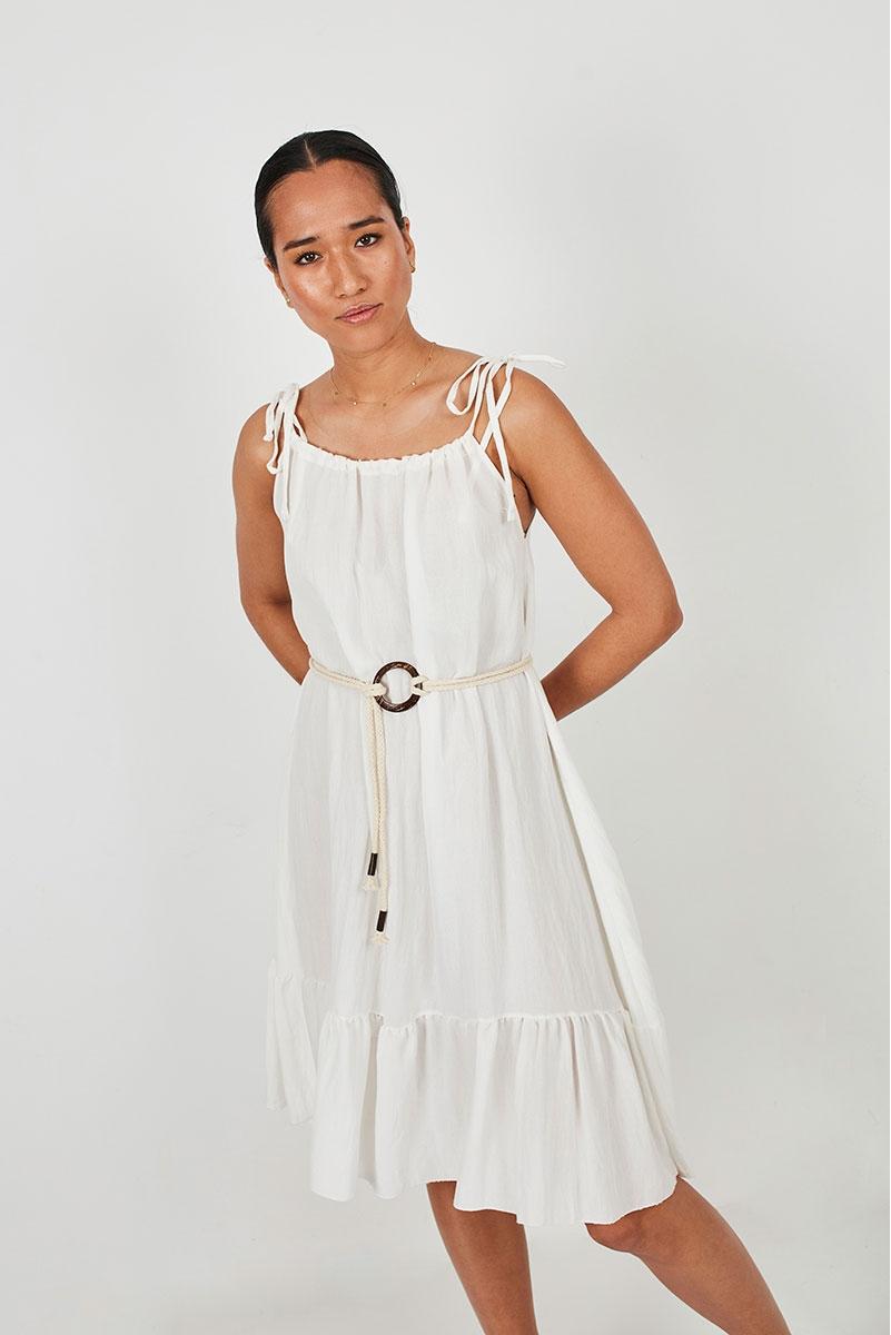 FLOWY DRESS WITH STRAPS