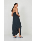 LONG DRESS WITH SIDE SLITS