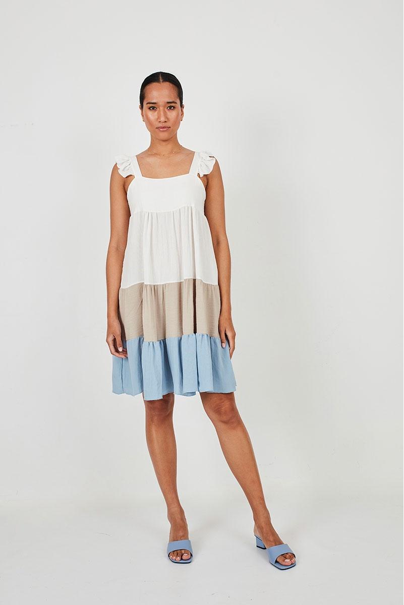 FLOWY TUNIC DRESS