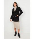 MILITARY STYLE COAT WITH GOLDEN BUTTONS