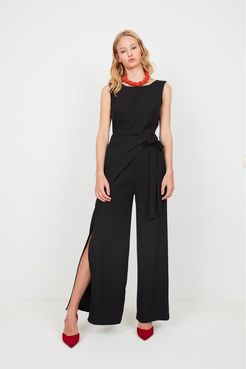 LONG JUMPSUIT WITH SIDE OPENING