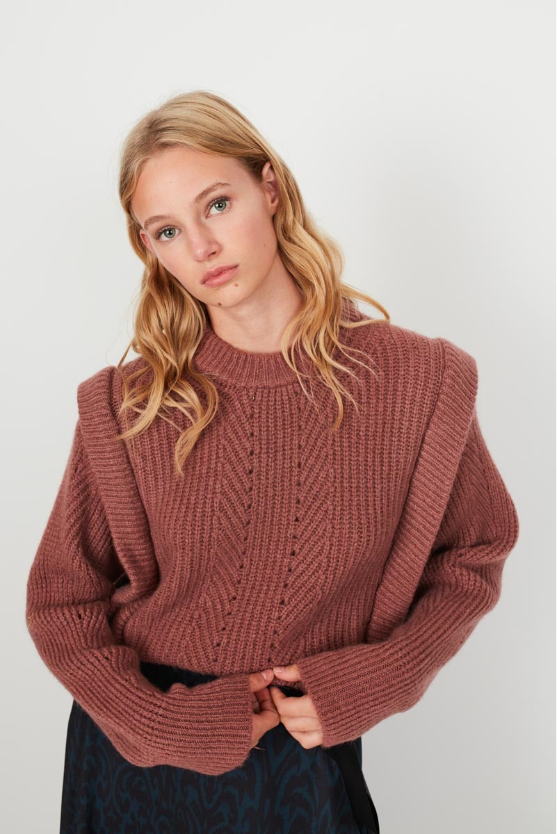 LIMITED EDITION THICK KNIT WOOL SWEATER