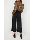 CROPPED TROUSERS WITH BOW
