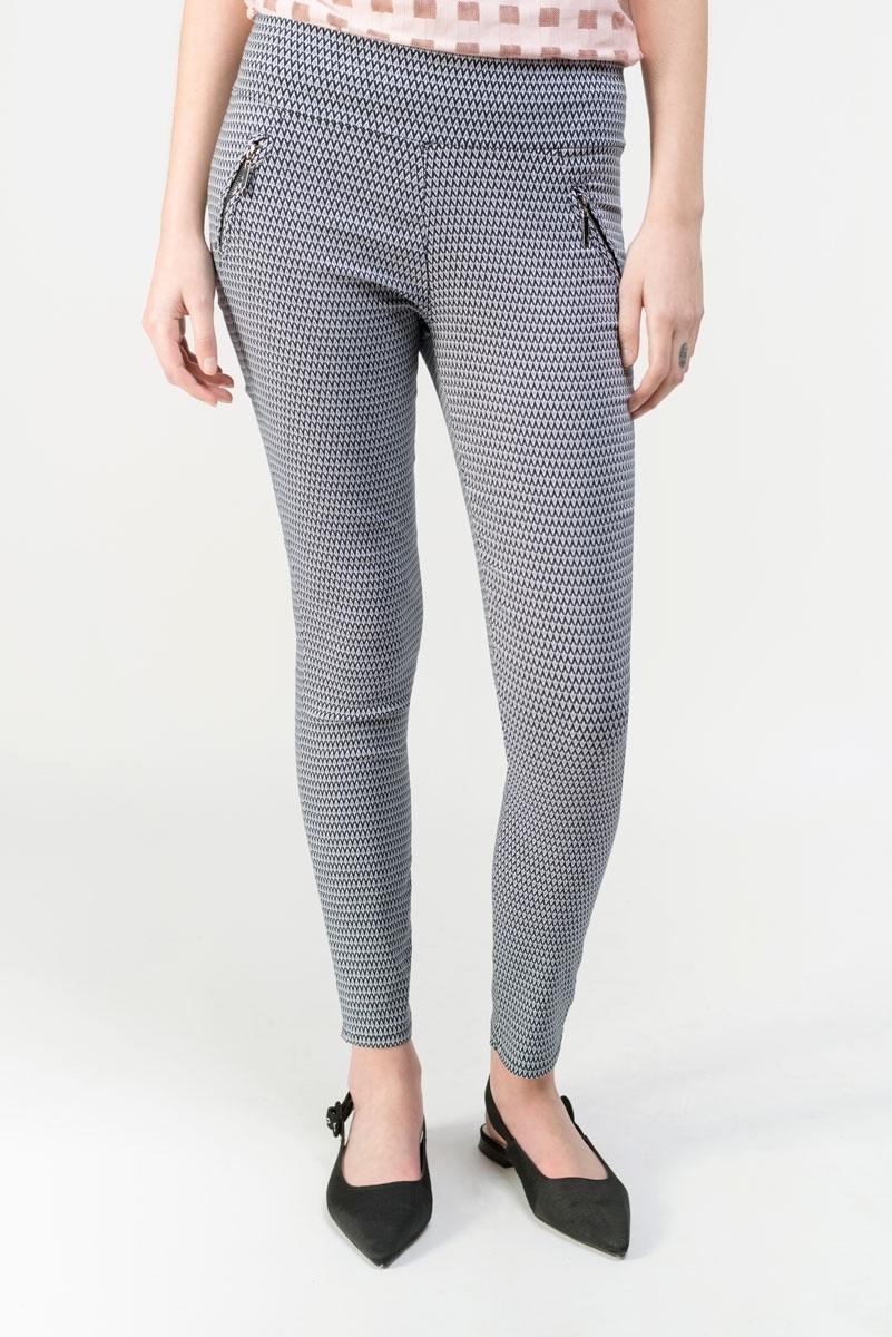 Pantalón estilo legging estampado