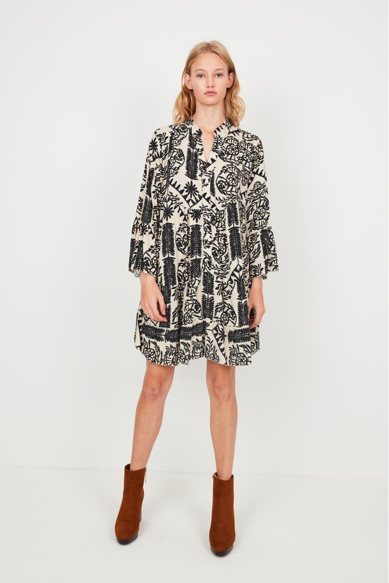SHORT PANEL DRESS