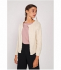 Knitted woolen jacket