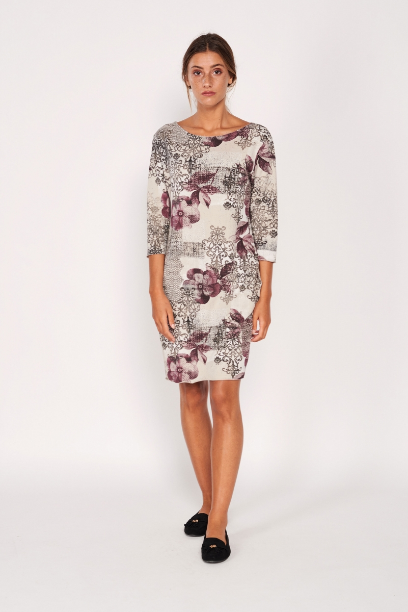 Pockets printed dress