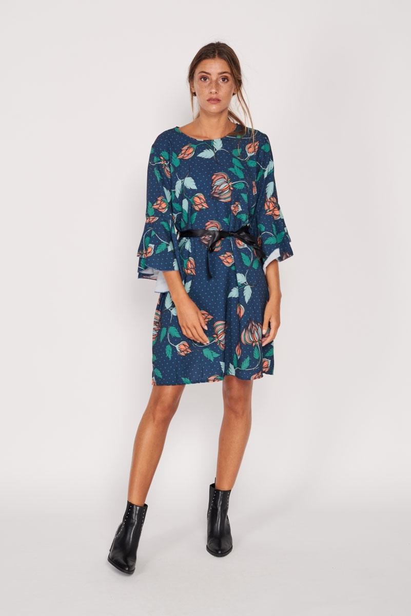 Floral flowing dress