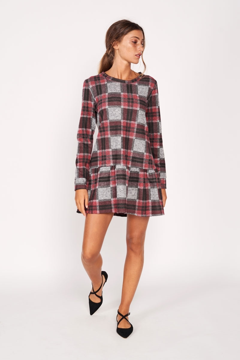Ruched dress hip