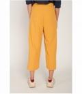 Pantalón culotte costura