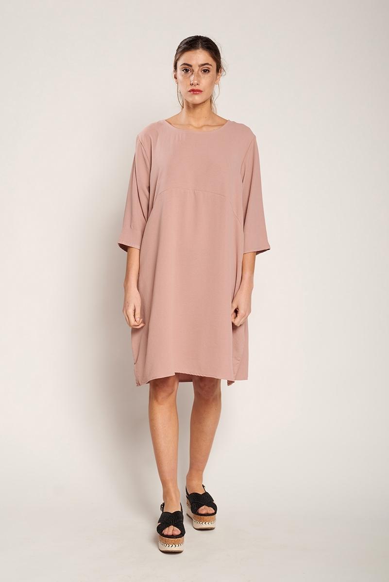Oversized midi dress