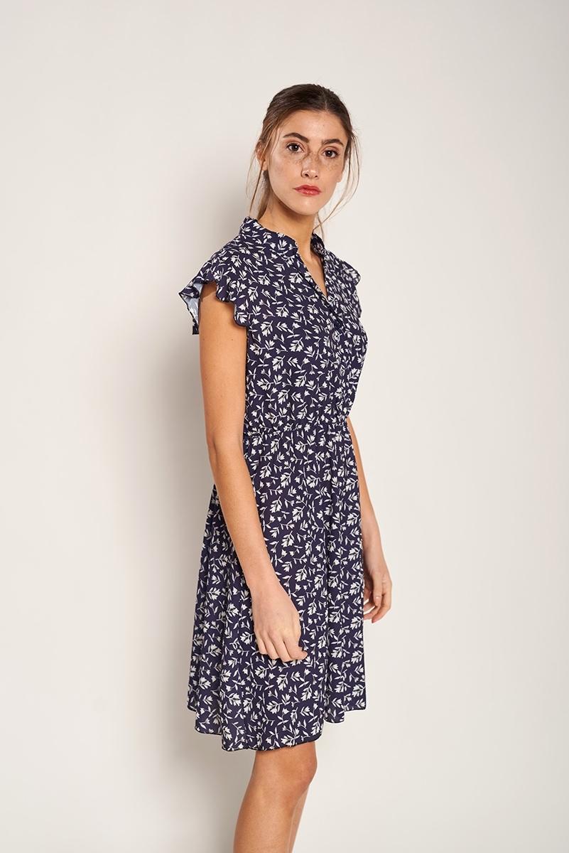 Sticker waist dress