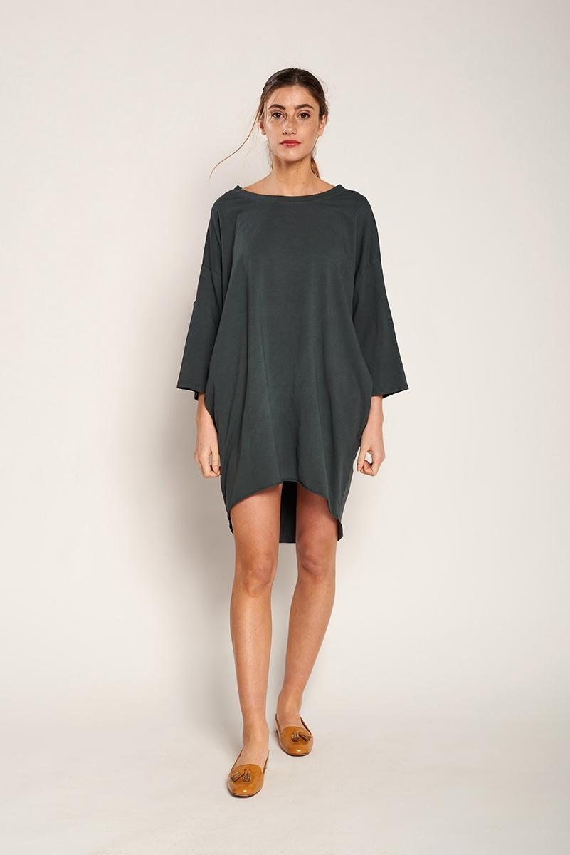 Pockets knit dress