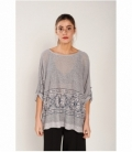 Sequined oversize t-shirt