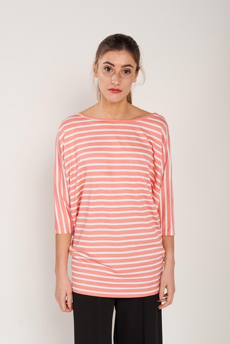 Camiseta rayas oversize