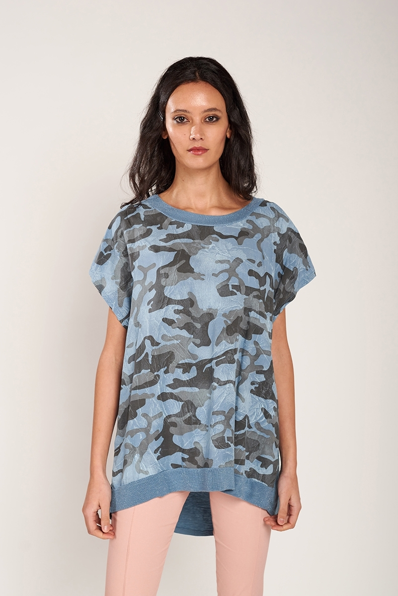 Combined military t-shirt