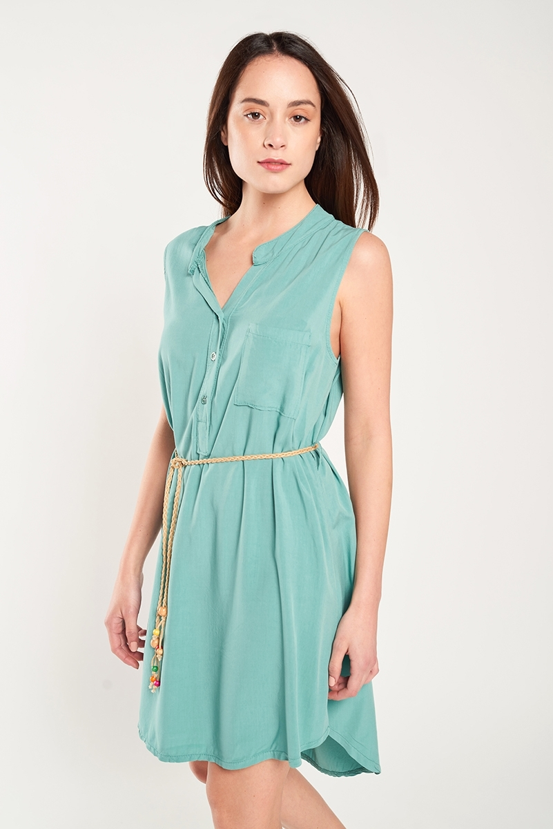 Tunic dress belt