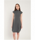 Knitted dress perkins neck