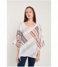 Linen oversize top