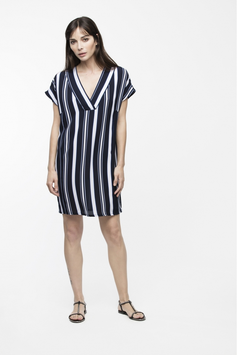 4ada57cce06 DRESS ODILE TUNIC STRIPED - Dioxide