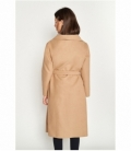 Midi coat belt