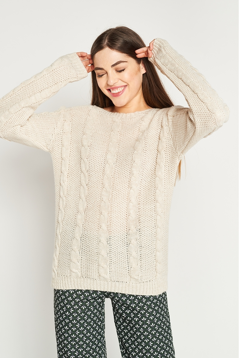 Eight wool sweater