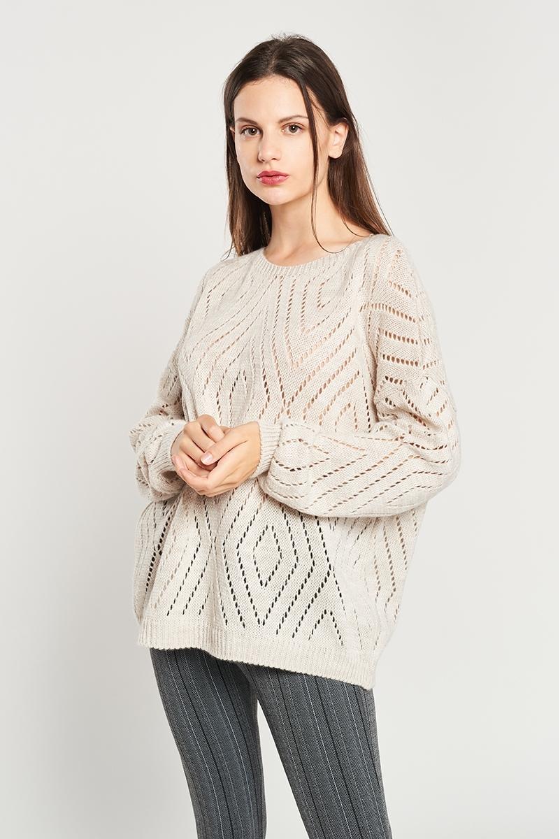 Jersey  lana desagujado