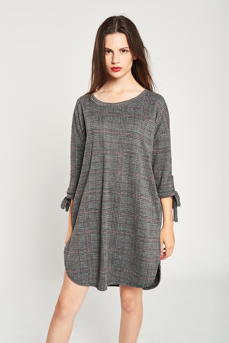 Welsh plaid dress