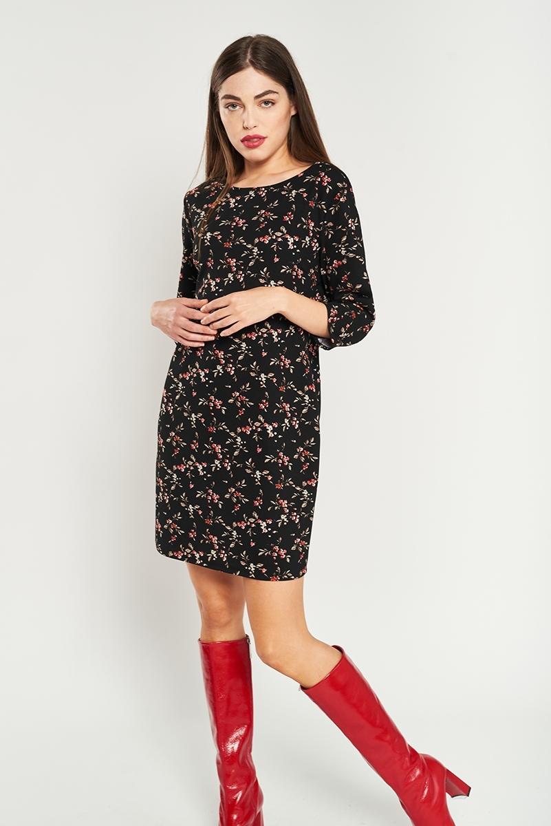 Vestido túnica estampado floral
