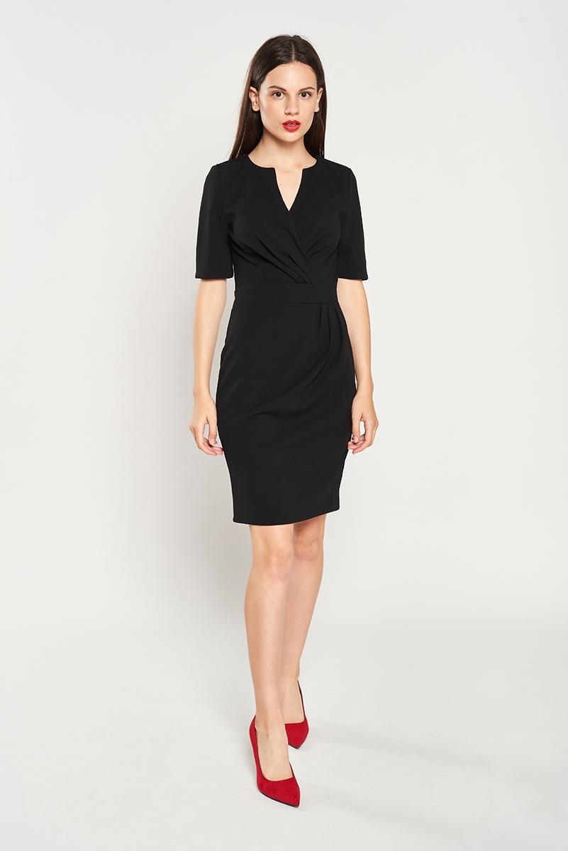 Folded cross dress