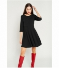 Long sleeve flight dress