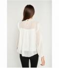 Semi-transparent Plumeti blouse