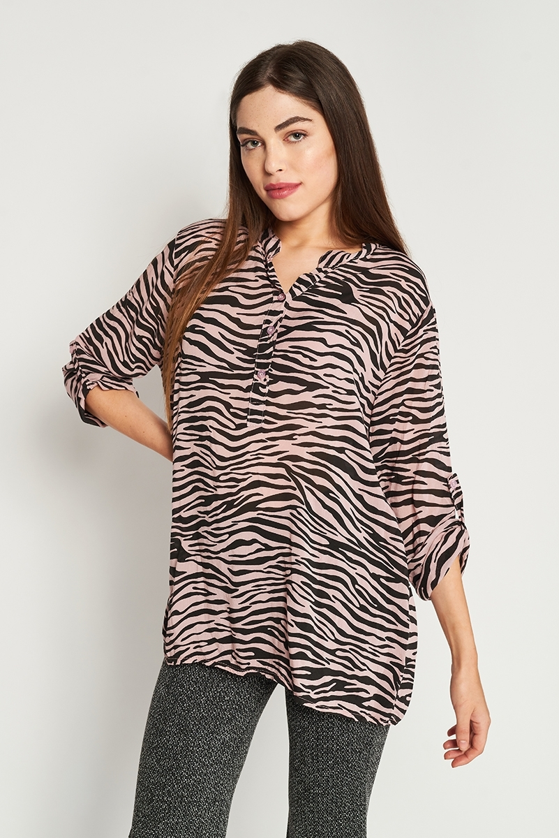 Blusa estampado animal
