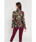 Floral print polo shirt