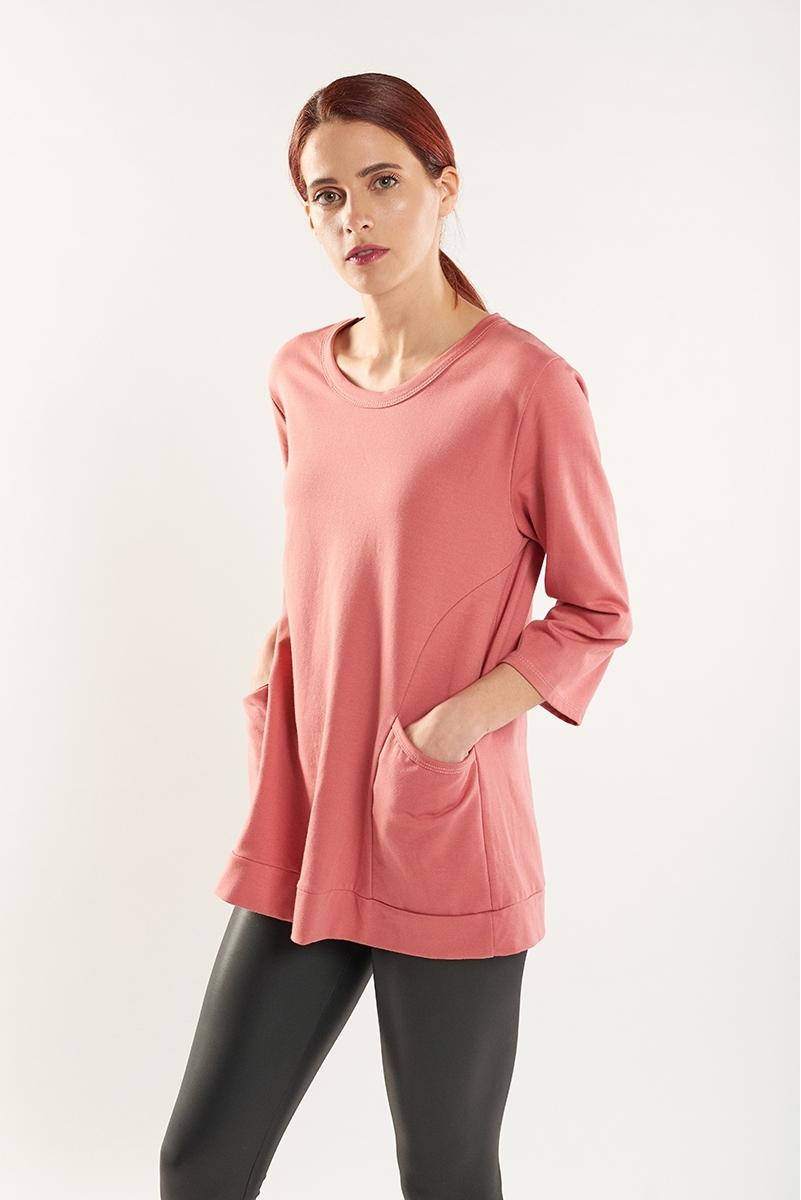 Sweatshirt with pockets