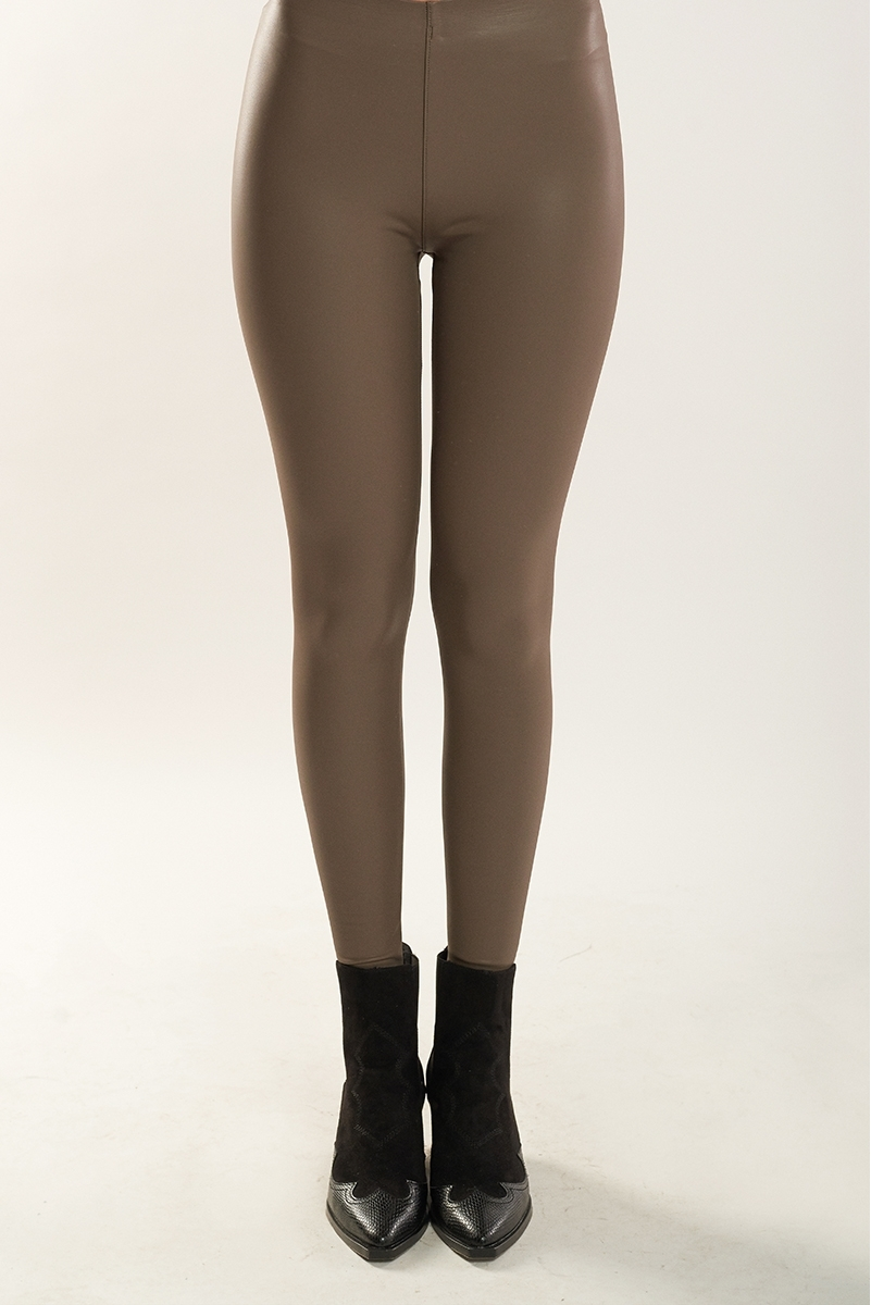 Legging efecto piel