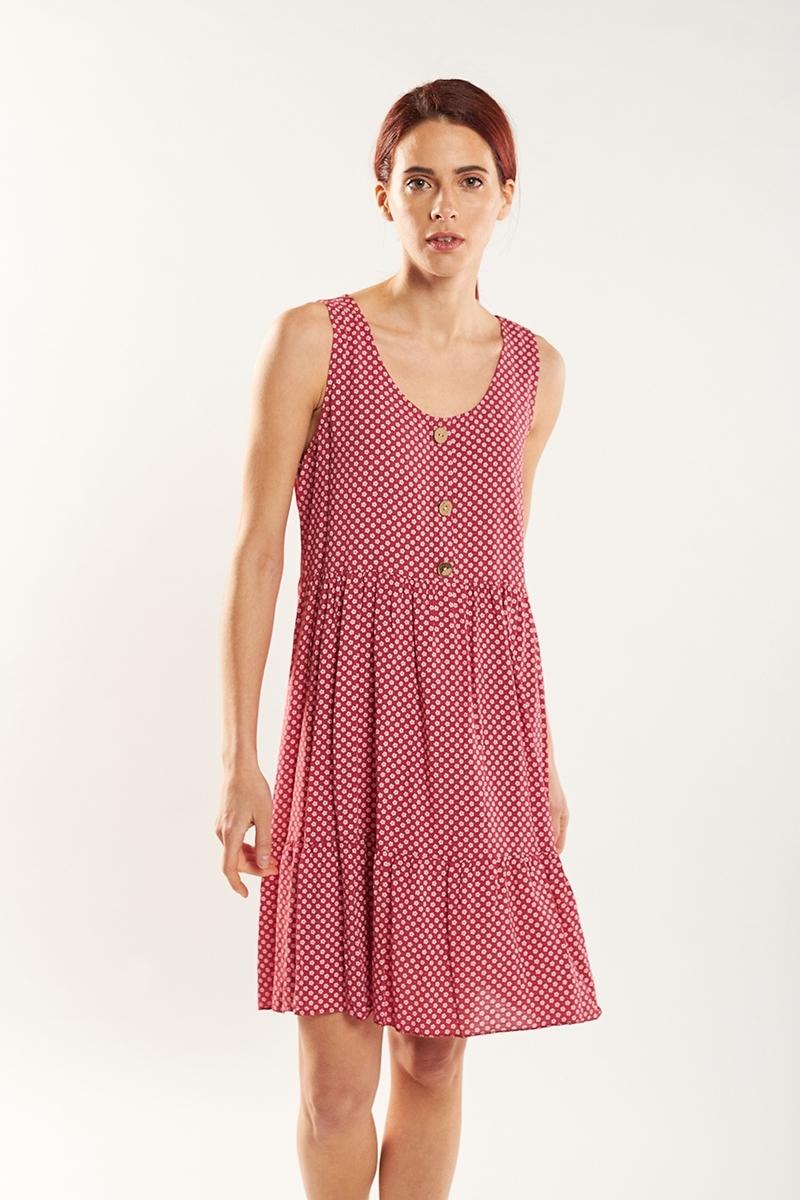 Micro-flower dress