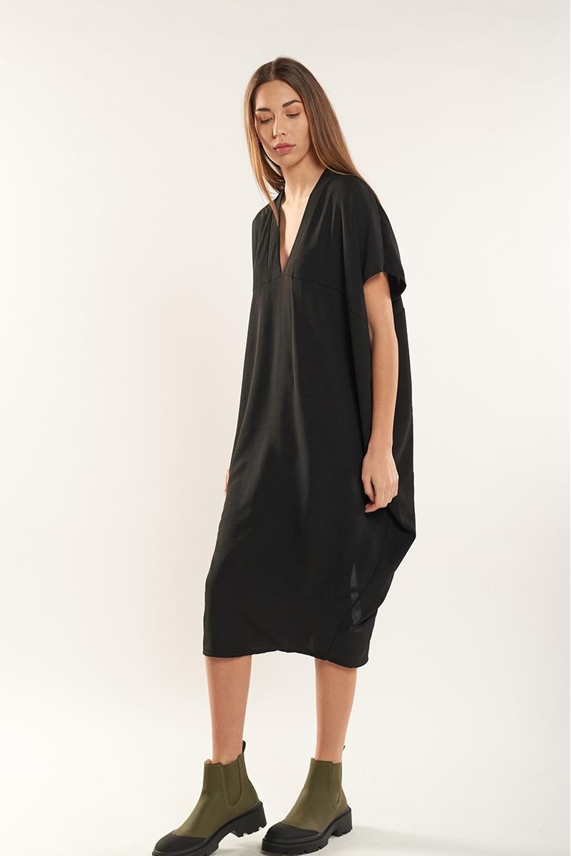 Flowy slit dress