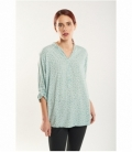 Maho neck blouse