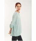 Maho neck blouse