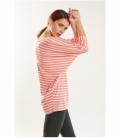 Oversized striped t-shirt
