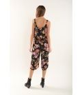 Floral cropped jumpsuit
