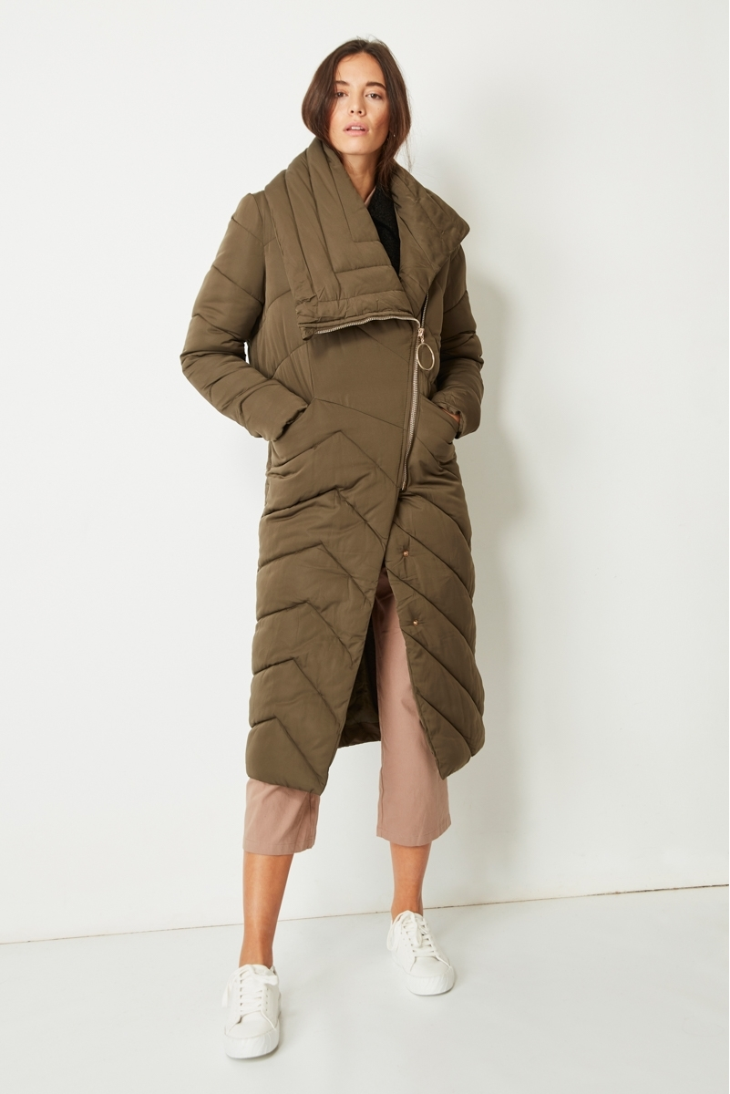 EXTRA LONG PADDED COAT