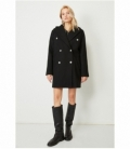 DOUBLE BUTTONED COAT