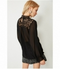 EMBROIDERED FLUID BLOUSE